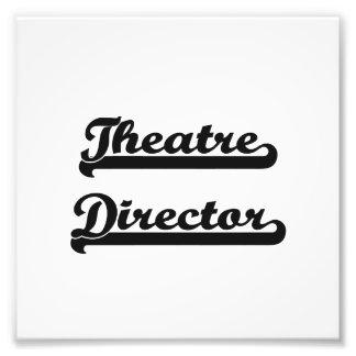 Theatre Director Classic Job Design Photograph