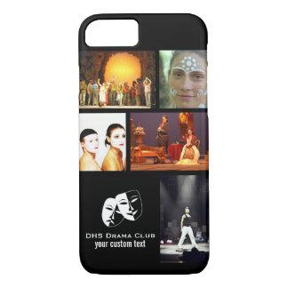 Theatre Drama Club Custom Photo Collage iPhone 7 Case