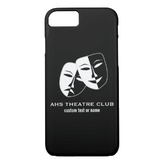 Theatre Drama Club Masks Custom Thespian Name iPhone 7 Case