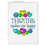 Theatre Happiness Greeting Cards