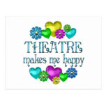 Theatre Happiness Post Card