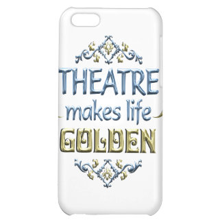 THEATRE is Golden iPhone 5C Cover