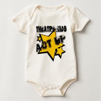 Theatre Kids Act Up Baby Bodysuit