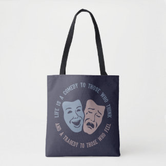 Theatre Life Quote bags