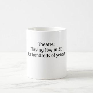 Theatre: Live in 3D! Mug
