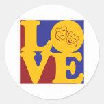 Theatre Love Stickers