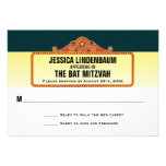 Theatre Marquee Bar Bat Mitzvah Reply RSVP