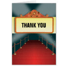Theatre Marquee Party Thank You