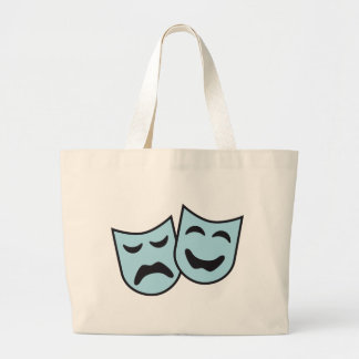theatre MASKs Large Tote Bag