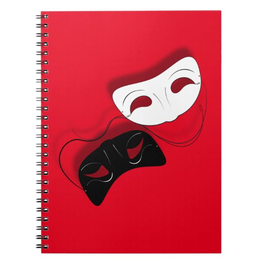 Theatre Masks Notebook