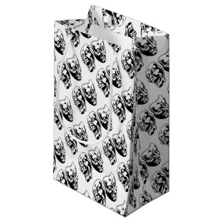 Theatre Masks Small Gift Bag