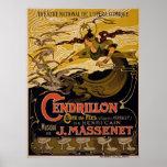 Theatre National De L'Opera-Comique ~ Cendrillon Poster