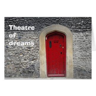 Theatre of dreams card