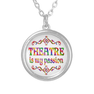 Theatre Passion Silver Plated Necklace