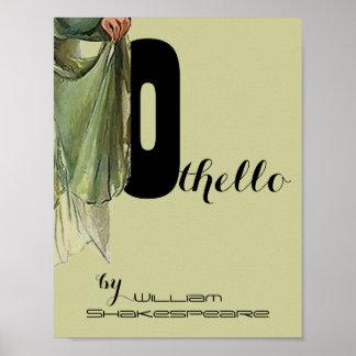 Theatre Play Poster Othello William Shakespeare