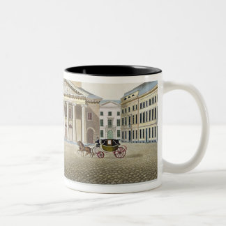 Theatre Royal, Brussels, from 'Choix des Monuments Two-Tone Coffee Mug