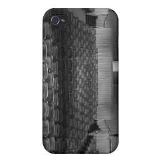 Theatre Seats Black White iPhone 4/4S Case