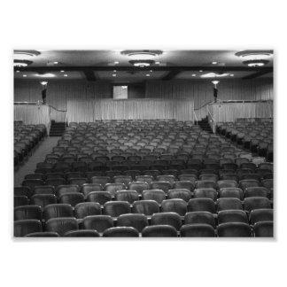 Theatre Seats Photographic Print