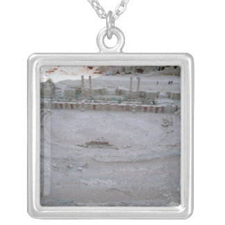 Theatre Silver Plated Necklace