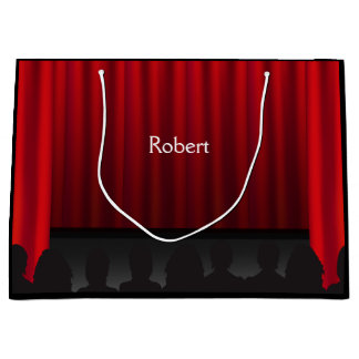 Theatre Stage Curtain Performance Custom LG GB Large Gift Bag