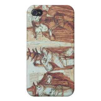 Theatrical Scene iPhone 4/4S Covers