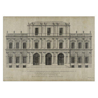 Theatrical Style Façade by Colen Campbell Cutting Board