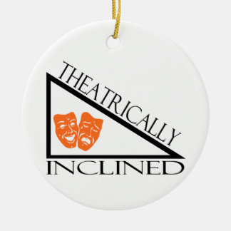 Theatrically Inclined Christmas Ornament