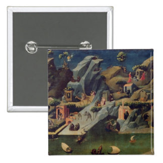 Thebaid, c.1410 (tempera on panel) (see also 16294 15 cm square badge