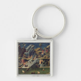 Thebaid, c.1410 (tempera on panel) (see also 16294 Silver-Colored square key ring