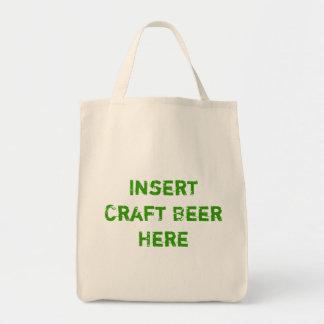 TheBEERSgoneBAD: Craft Beer Grocery Tote