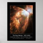 TheBugNebula-NGC6302-2004-46a Posters