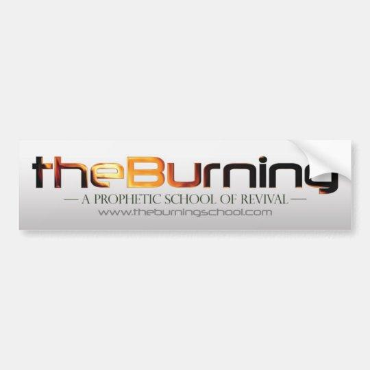 theBurning Bumper Sticker