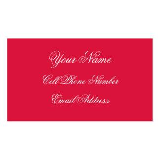 TheColorWheel Crimson Standard Business Card