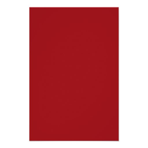 TheColorWheel Indian Red Small Poster