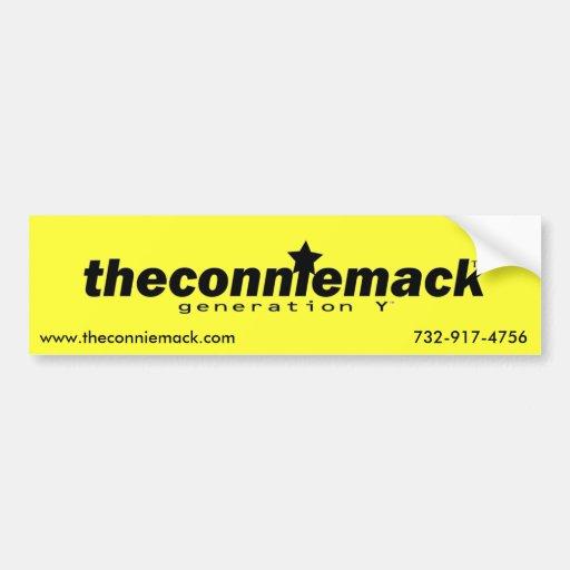 theconniemack Sticker 2 Bumper Stickers