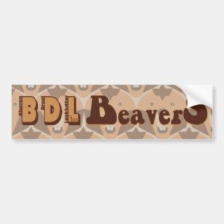 """theCUBICLE"" BDL Beavers Bumper Sticker"