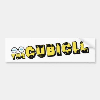 """theCUBICLE"" Logo (1) Bumper Sticker"
