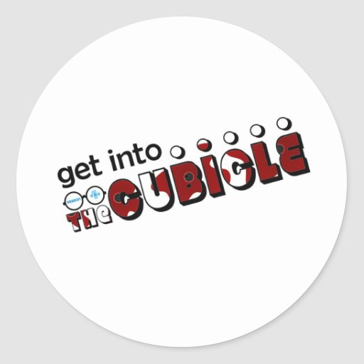 theCUBICLE Season 1 - Wounds Round Sticker