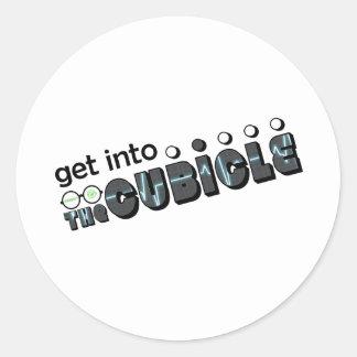 theCUBICLE Season 2 - EKB Round Sticker