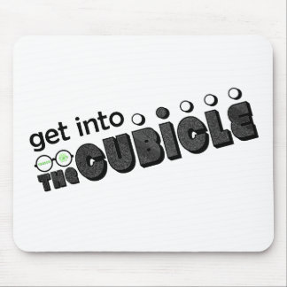 theCUBICLE Season 2 - TV Static Mouse Pad