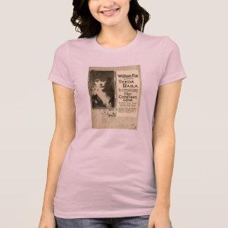 Theda Bara 1917 Exhibitor Ad silent movie actress Tees