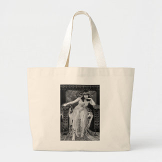 Theda Bara as Cleopatra Large Tote Bag