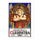 Theda Bara as Cleopatra Vintage Movie Postcard