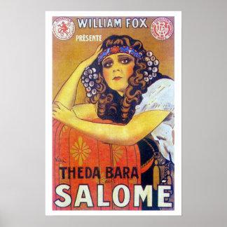 Theda Bara Salome Movie Poster
