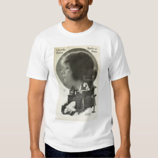 Theda Bara with Russian Wolfhound 1917 photo T-shirts
