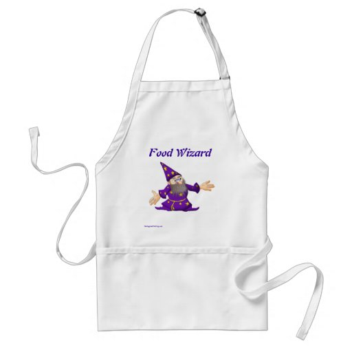 TheDogAndTheFrog.com Cartoon Story Gifts Wizard Apron