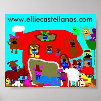 Thefarm, www.elliecastellanos.com poster