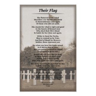 """Their Flag"" Poster"