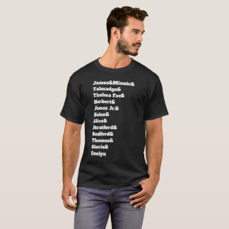 Their Names, Our Heritage T-Shirt