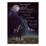 TheLegend of Horses Print